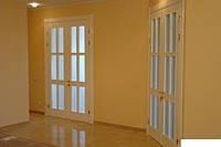 Двери двойные деревянные