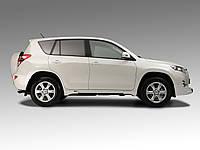 Накладки на пороги JAOS Toyota RAV-4 10+