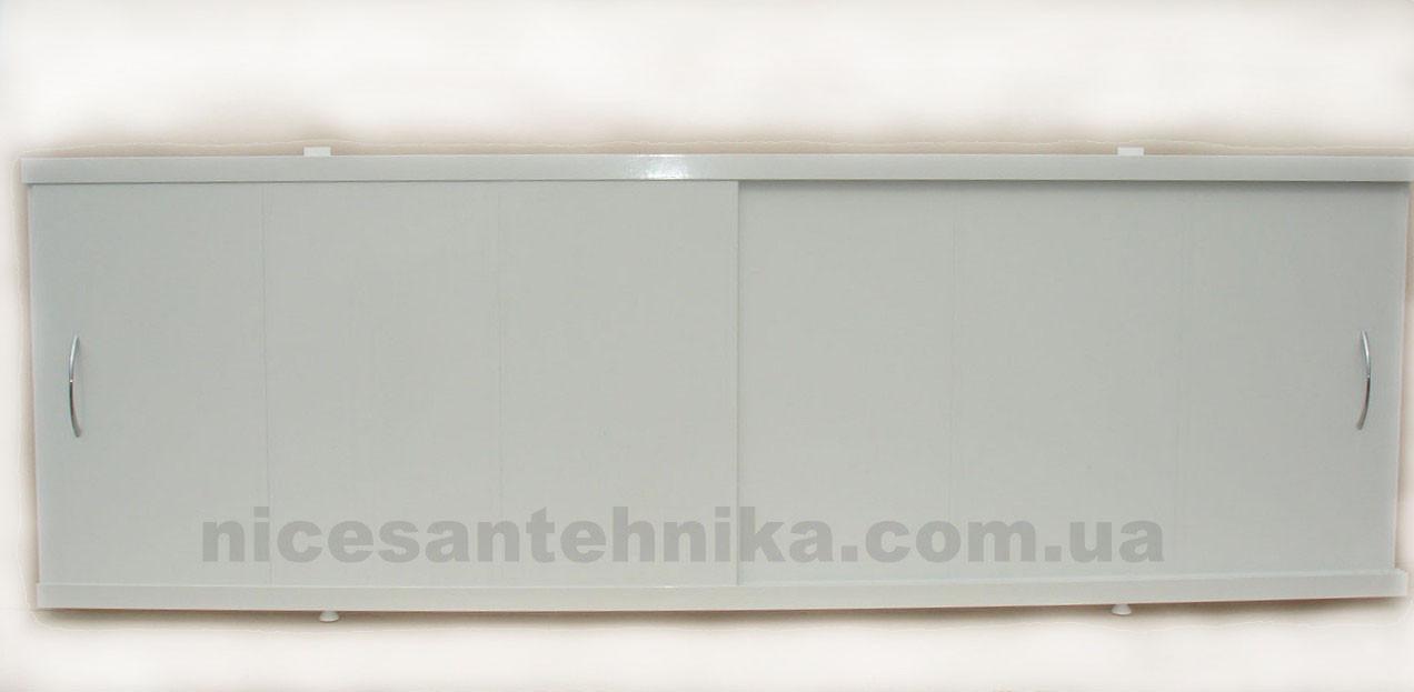 Экран для ванны алюминиевый 160*60 см. ЕВА-2