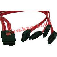 Кабель AIC Mini SAS x4 (SFF-8087) -> 4 х SATA (Cable-SAS-8087-Fan-Out-int (CBL-SAI-IP7P-50))