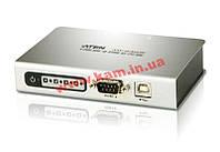 Конвертор USB в 4xRS-232 порта (Вход: 1x USB Type B Female, Выход: 4x DB-9 Male), ATEN. (UC-2324)