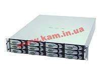 2U SAS J-BOD 12 дисков SAS/ SATA-2 с одним расширителем (expander), без SAS кабеля, X (XJ-SA13-212R)