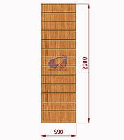 Экспопанель (экономпанель) Н=1800мм, W=770мм, светлый дуб, фото 1