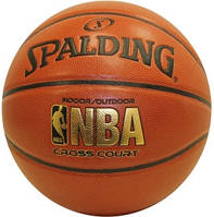 """Баскетбольный мяч Spalding NBA Cross Court Official 29,5"""""""