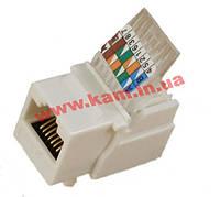 Модуль KeyStone RJ45 UTP, кат. 5e, безінструментний (KESTN6037)