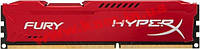 Оперативная память Kingston DDR3 4Gb 1600 MHz HyperX Fury Red (HX316C10FR/4)