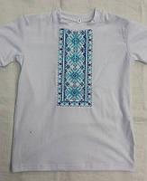 Детская футболка для мальчика с вышивкой