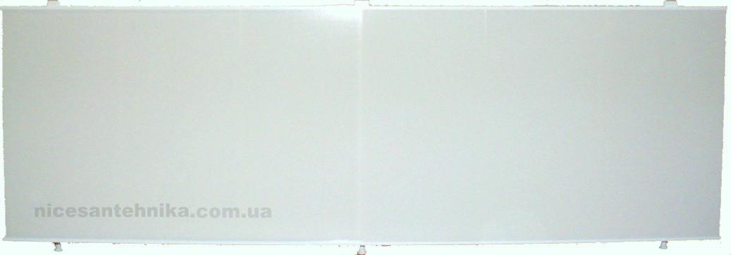 Экран для ванны 170*60 см. алюминиевый ЕВА-3