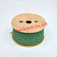 Кроссовый провод 1х2х0.5, 500м/ кат, зеленый (KDUT8000-GR)