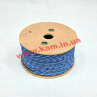 Кроссовый провод 1х2х0.5, 500м/ кат, синий (KDUT8000-BL)