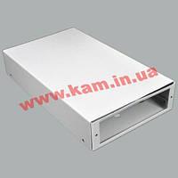 """ВО коробка для ВО з""""єднань (для 4-8 SC/ FC) без лицьової панелі, пуста, сіра (UA-FOBC-G)"""
