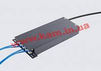 ВО бокс малий до 4 волокон, з кабельним організатором, 200х80х28 мм, чорний (UA-FOBSМ-B)