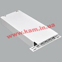 ВО бокс малий до 4 волокон, з кабельним організатором, 200х80х28 мм, сірий (UA-FOBSМ-G)