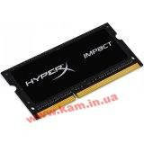 Оперативная память Kingston 8GB 1600MHz DDR3L CL9 SODIMM 1.35V HyperX Impact Black Se (HX316LS9IB/8)