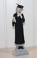 """Порцелянова статуетка """"Випускниця"""" дівчинка (Pavone) JP-53/ 6"""