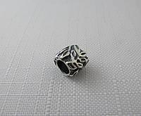 Бусина ШАРМ серебро 925*