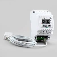 Терморегулятор/Регулятор влажности,одноканальный в корпусе на DIN-рейку РВ-16/D-АМ2302