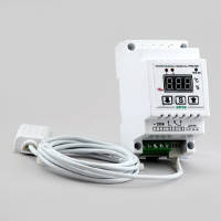 Терморегулятор/Регулятор влажности,одноканальный в корпусе на DIN-рейку РТРВ-16/D