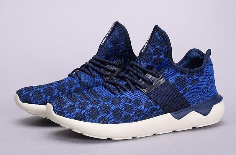 san francisco 09067 b3774 Кроссовки в стиле Adidas Tubular Runner Primeknit Stone Blue 40