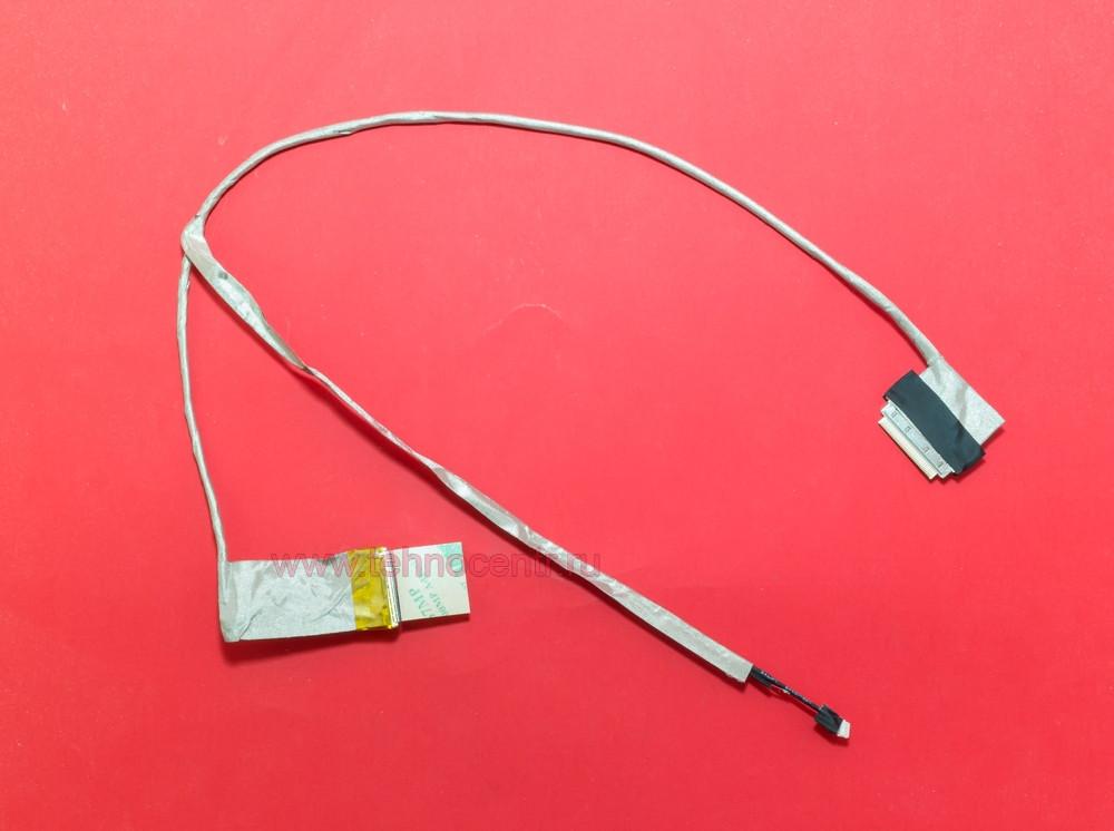 Шлейф матрицы для ноутбука ASUS (K43, K84), LED, разъем под камеру, без микрофона