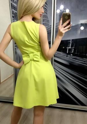 Платье женское без рукавов ft-251 желтое, фото 2