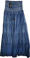 Женская юбка джинсовая