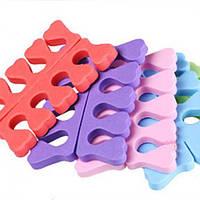 Разделители для пальцев ног 2 шт