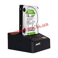 "Док-станция для жесткого диска 2.5""/ 3.5"" USB3.0 Maiwo K300-U3S Black SATA (K300-U3S)"