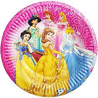 Тарелки бумажные Принцессы-1 10шт.