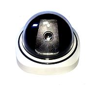 Купольная камера видеонаблюдения муляж с диодом 1200B обманка