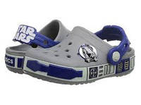 Оригинальные кроксы Crocs Kids' Crocband Star Wars R2D2, фото 1