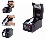 Принтер этикеток Xprinter 350 (штрих кодов) и чеков, фото 1