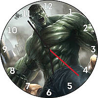 Часы настенные Халк. Доктор Роберт Брюс Беннер