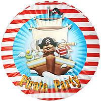 Тарелки бумажные Пираты-2 10шт.