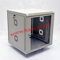 Шкаф 15U, 600х600х743 мм (Ш*Г*В), акриловое стекло, серый (UA-MGSWA156G)