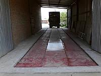 Автомобильные весы 80 тонн., длинна 18 метров. Врезные с центральными люками.