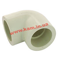 Колено для трубы 25мм (ZK25)