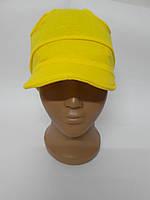 Летняя трикотажная шапочка с козырьком