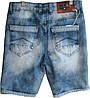 Джинсовые шорты мужские, фото 2