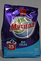Концентрированный стиральный порошок Maxsima bio color 1250 г