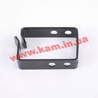 Кабельний организатор-кольцо 44х60, метал 2мм, черний глянец (CPF-IT-00-004)