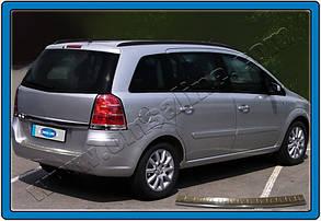 Накладка на задній бампер Opel Zafira B (нерж.)