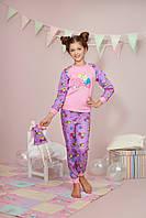 Пижама для девочки 3 - 6 лет