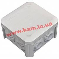 Коробка распределительная, внешняя, пластик, 90х90х52, 6 вводов, IP54, без клем, OBO (2007045T40)