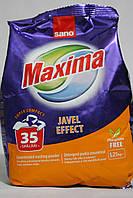 Концентрированный стиральный порошок Maxsima javel effect 1250 г