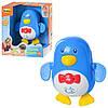 Игра 7102 NL (24шт) для купания, пингвин, заводная, муз,звук животн,на бат-ке,в кор-ке,19,5-17,5-9см