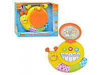 Музыкальная игрушка Улитка с пианино WinFun 0725 NL