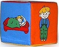 "Кубик- погремушка ""Дети"" РОЗУМНА ИГРАШКА"