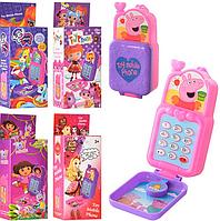 Детский мобильный телефон 1601-2-3-4-5 Мультибренд