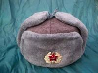 Шапка военная советская